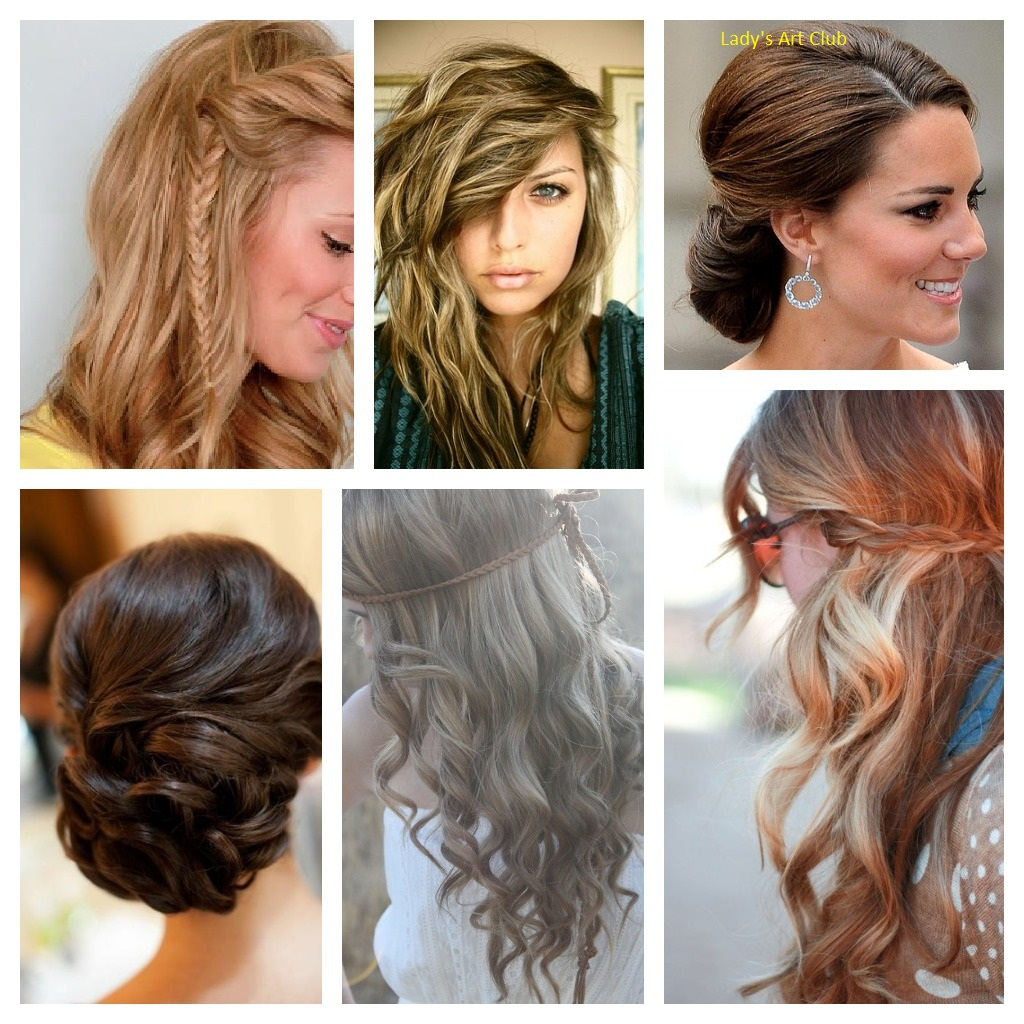 Lady's Art Club: Here Some Designs Of Gorgeous Hairstyle For Party
