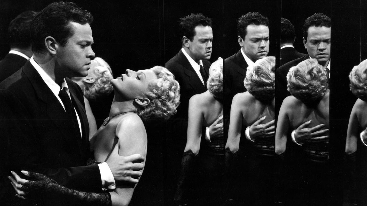 adventures in vertigo film noir the darkness returns orson welles and rita hayworth in lady from shanghai 1947