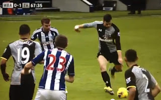 Gareth Bale score Amazing Goal vs West Brom (03-02-13)