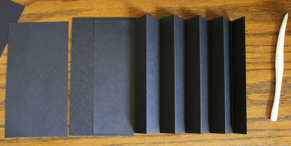 accordion inserts for book