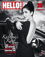 Katrina Kaif looks stunning DHOOM 3 Girl in HELLO Magazine Black and White Pics