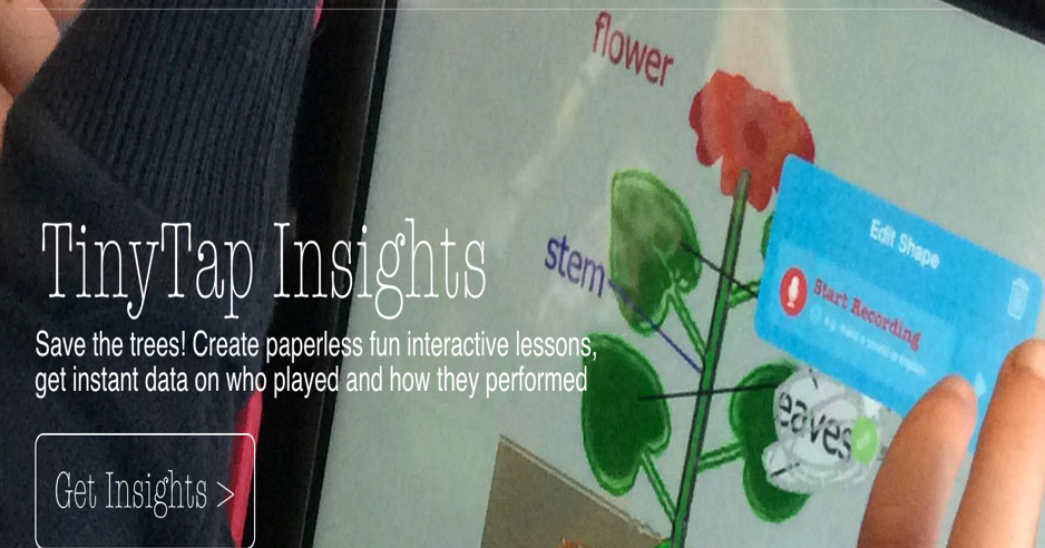 Insights- A New Educational Tool for Creating Paperless Interactive Lessons