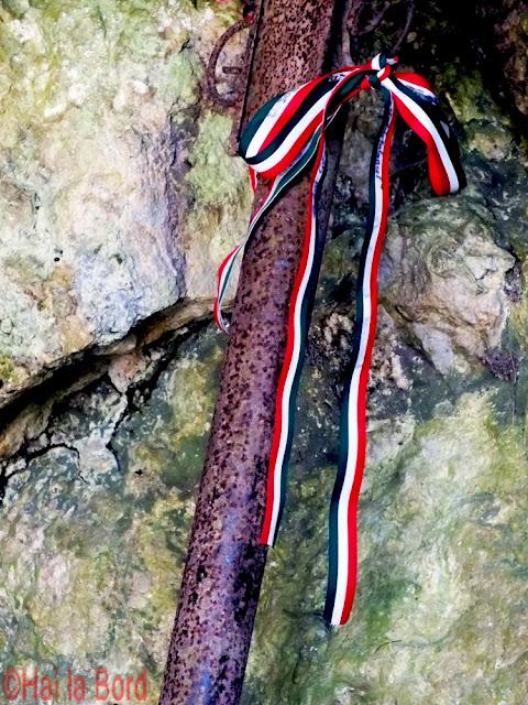 panglica steag ungaria pestera cheile varghisului