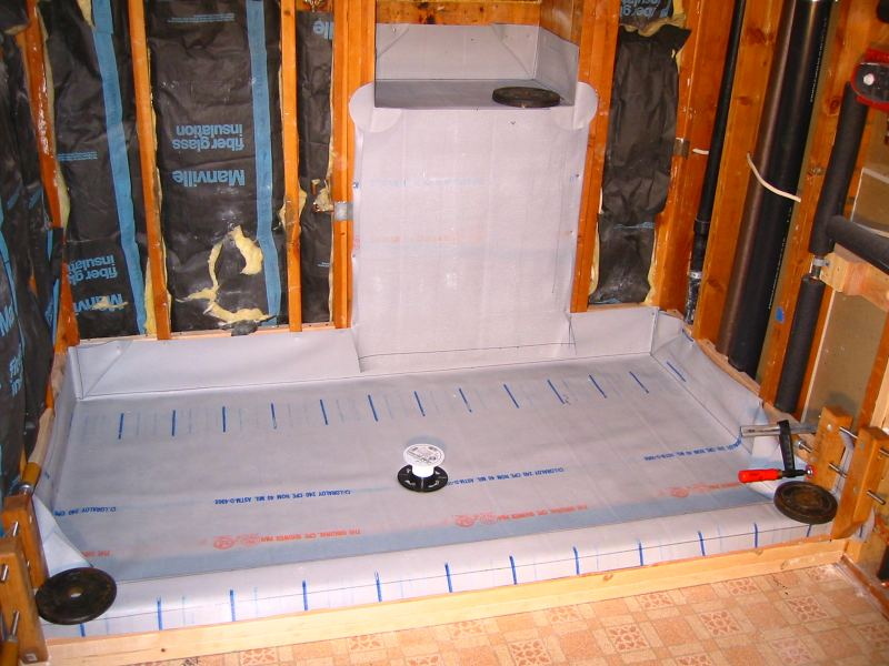 Shower Pan Membrane Liner