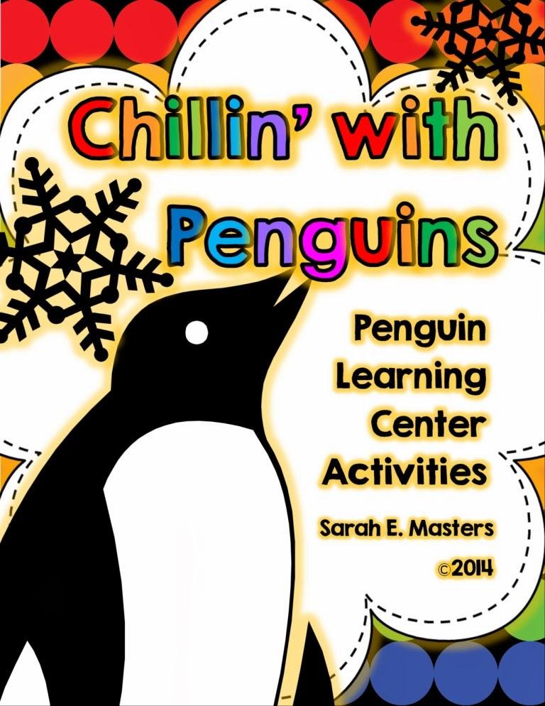 http://www.teacherspayteachers.com/Product/Penguin-Learning-Centers-Penguin-Activities-Chillin-with-Penguins-1043073