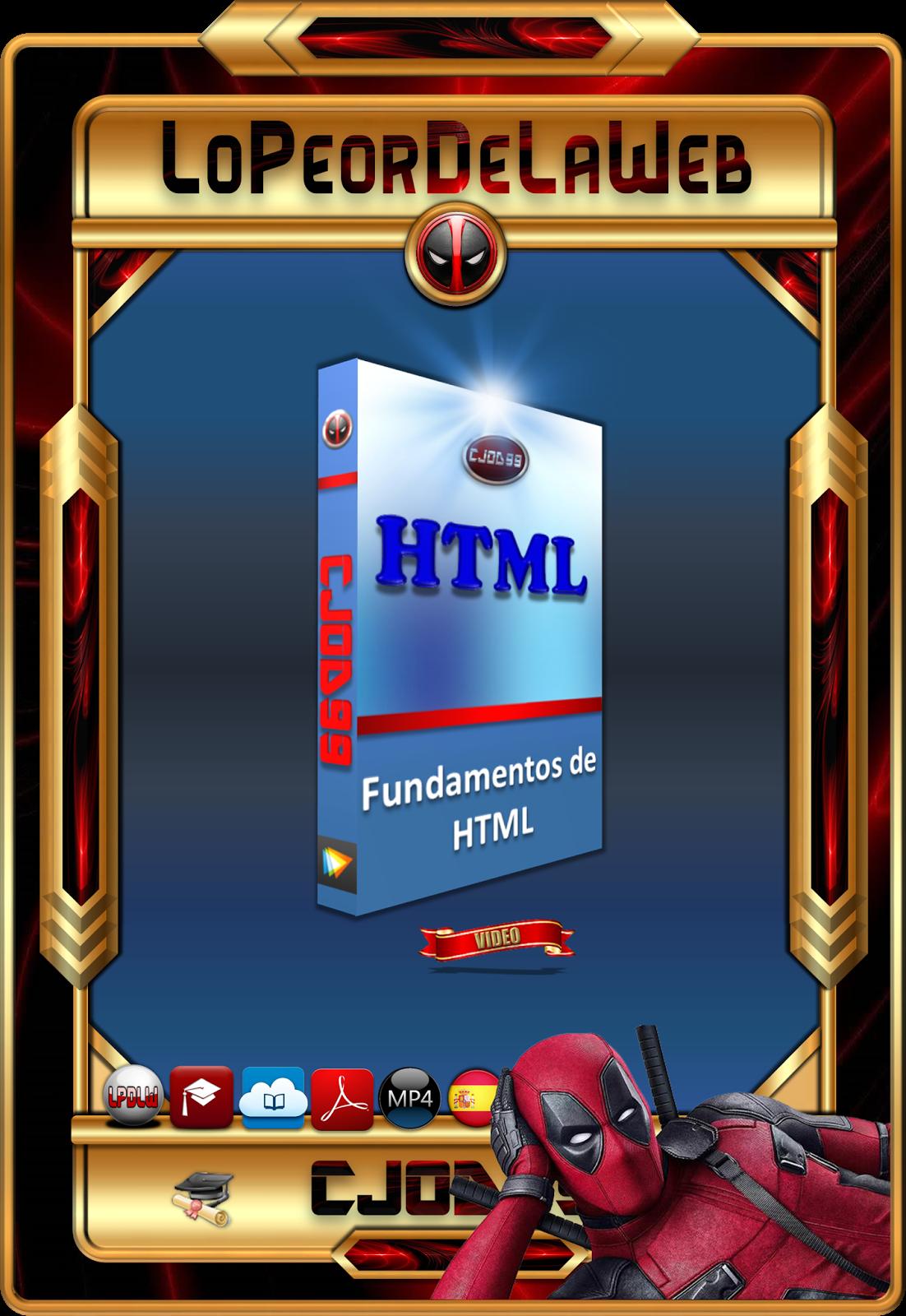 Curso. Fundamentos de HTML videos en Español