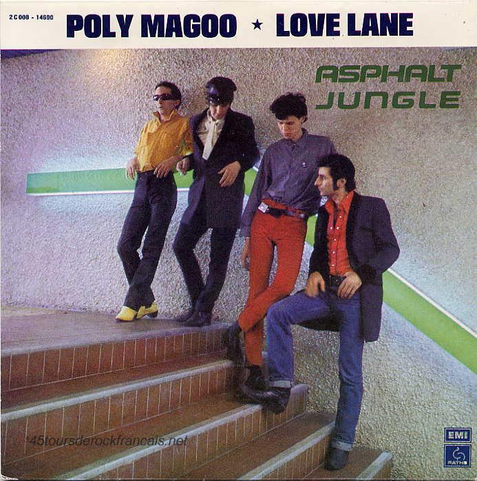 Asphalt Jungle Poly Magoo Love Lane