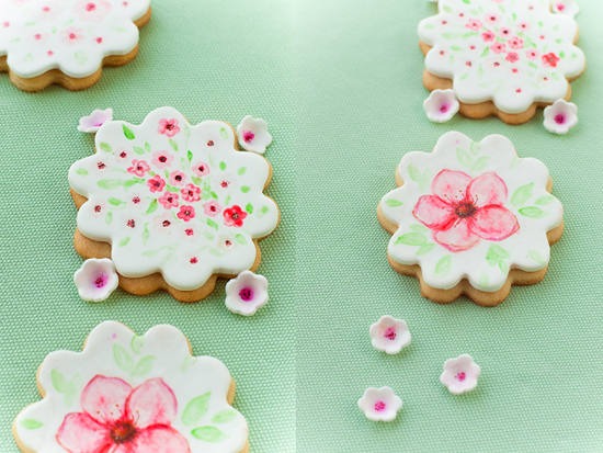 Hand-painted cookies - beautiful edible art!