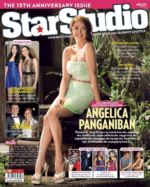 Angelica Panganiban Details Breakup with Derek Ramsay in StarStudio April 2013 Issue