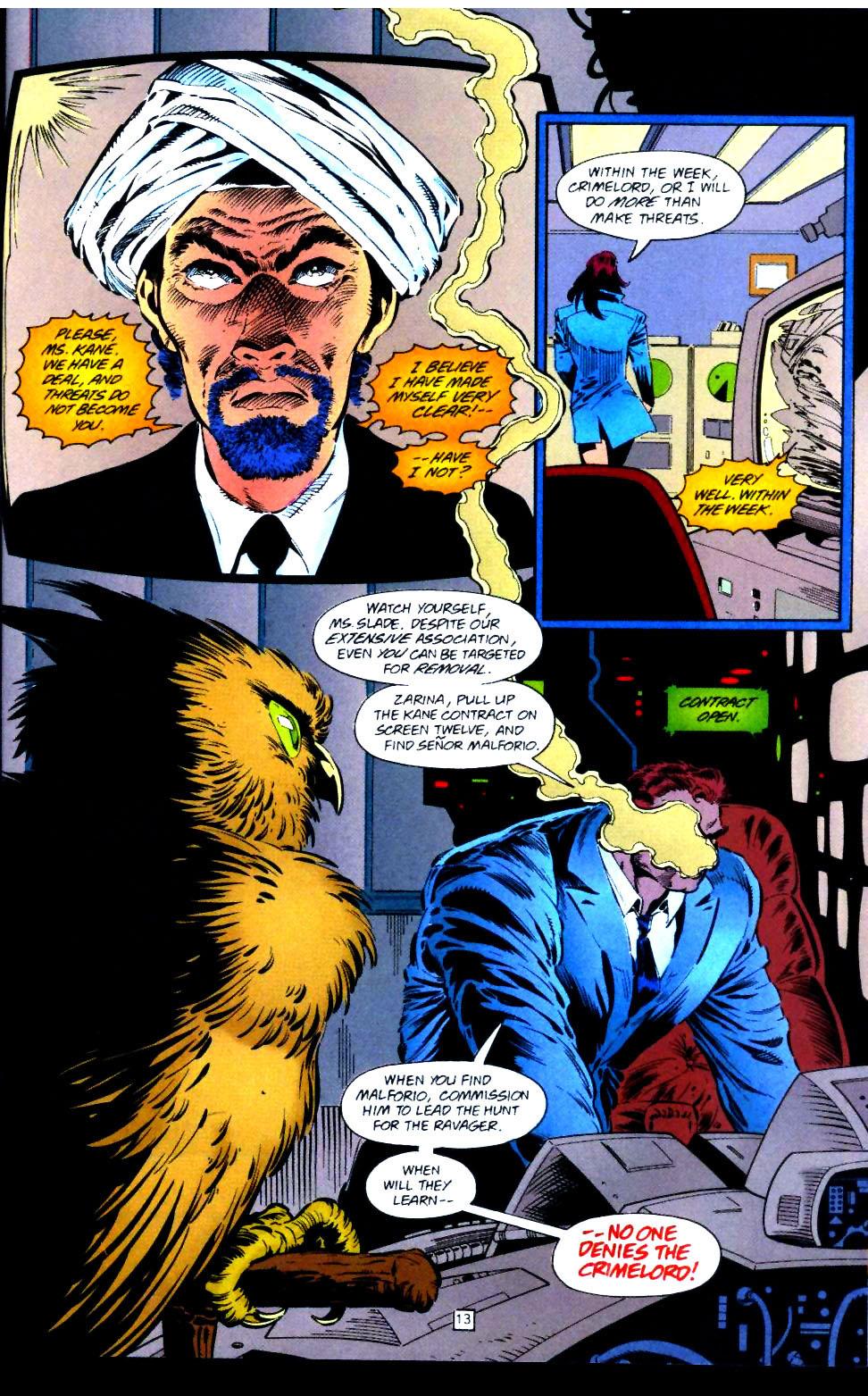 Deathstroke (1991) Issue #43 #48 - English 14