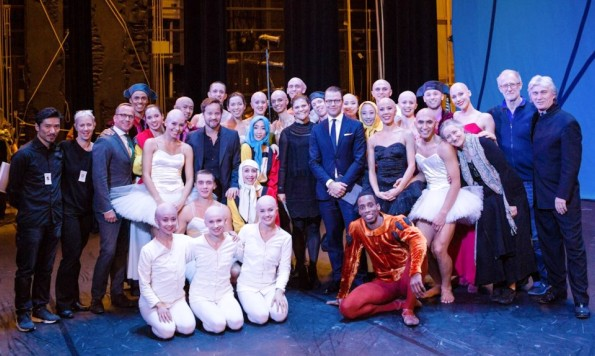 Princess Victoria And Prince Daniel At The 'Swan Lake' Ballet