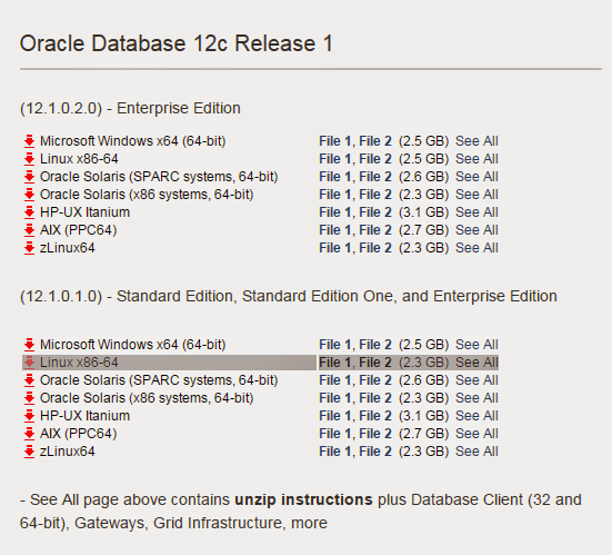 Sujeet APPS DBA: Install Oracle Database 12c Release 1 on OEL 6.5