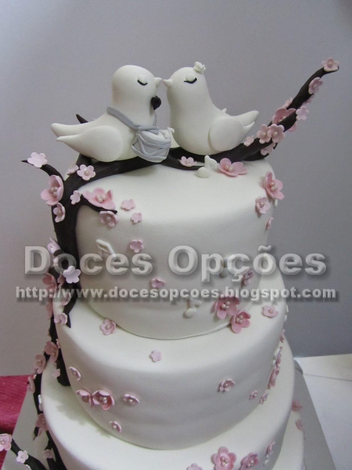bolo noivos doces opções