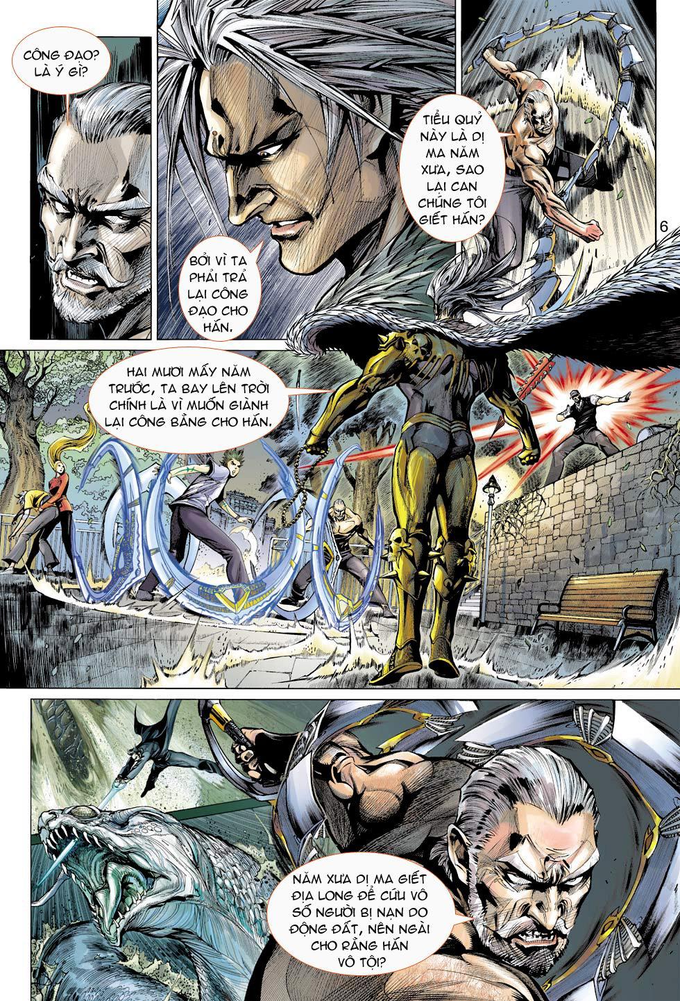 Thần Binh 4 chap 16 - Trang 6