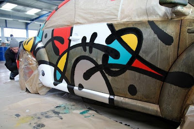 Graffiti Volkswagen Beetle Seen On www.coolpicturegallery.us