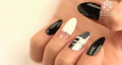 Square nail art