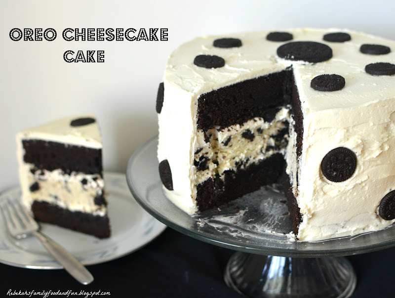 Birthday Cake Oreo White Chocolate Cheesecake Image Inspiration of