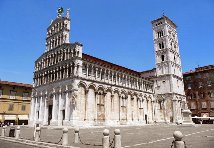 Iglesia de San Miguel en Foro, Lucca, Italia