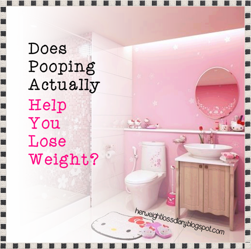 Does Pooping Actually Help You Lose Weight?