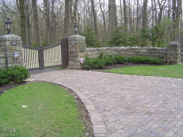 Our French Inspired Home Brick And Cobblestone Paver