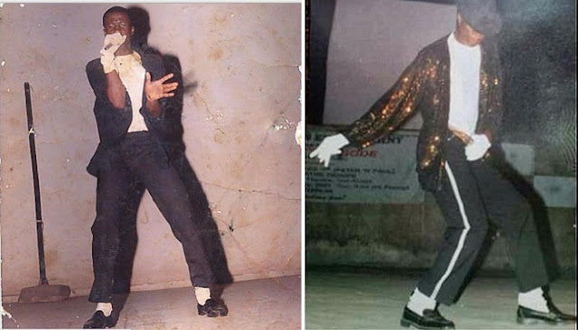 peter okoye moonwalk michael jackson