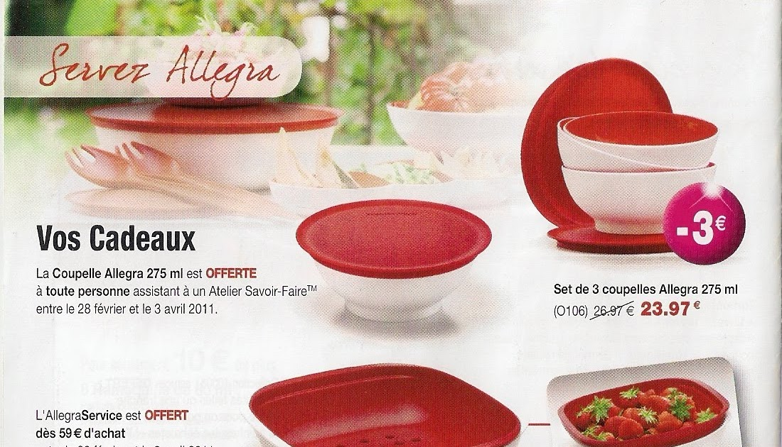 Allegraservice Tupperware