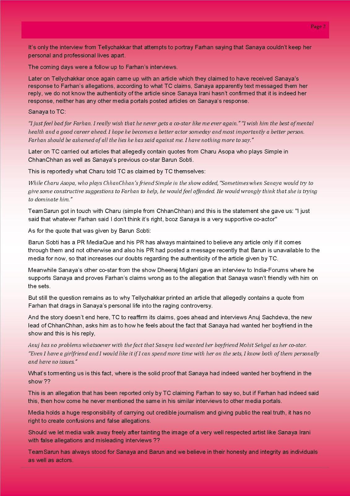 team sarun s analysis of farhan s interview planet sanaya team sarun s analysis of farhan s interview
