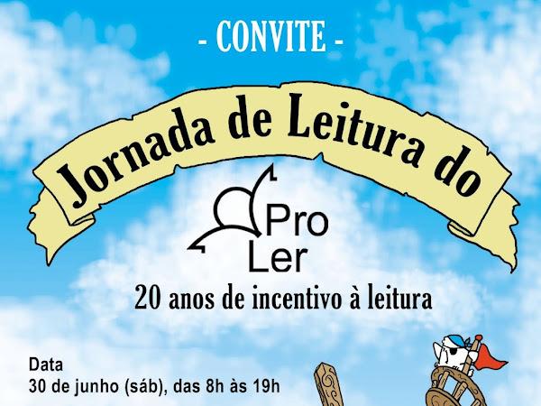 Convite para Jornada de Leitura do ProLer no Rio de Janeiro