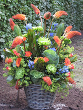 Groot bloemstuk