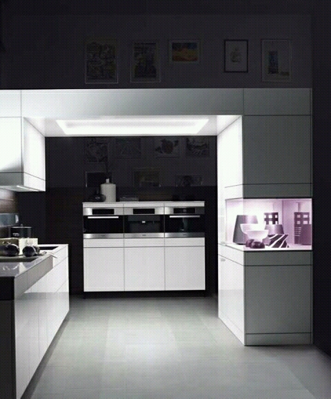 New Home Designs Latest Ultra Modern Kitchen Designs Ideas: Ultra Modern Kitchen Cabinets Designs Ideas.