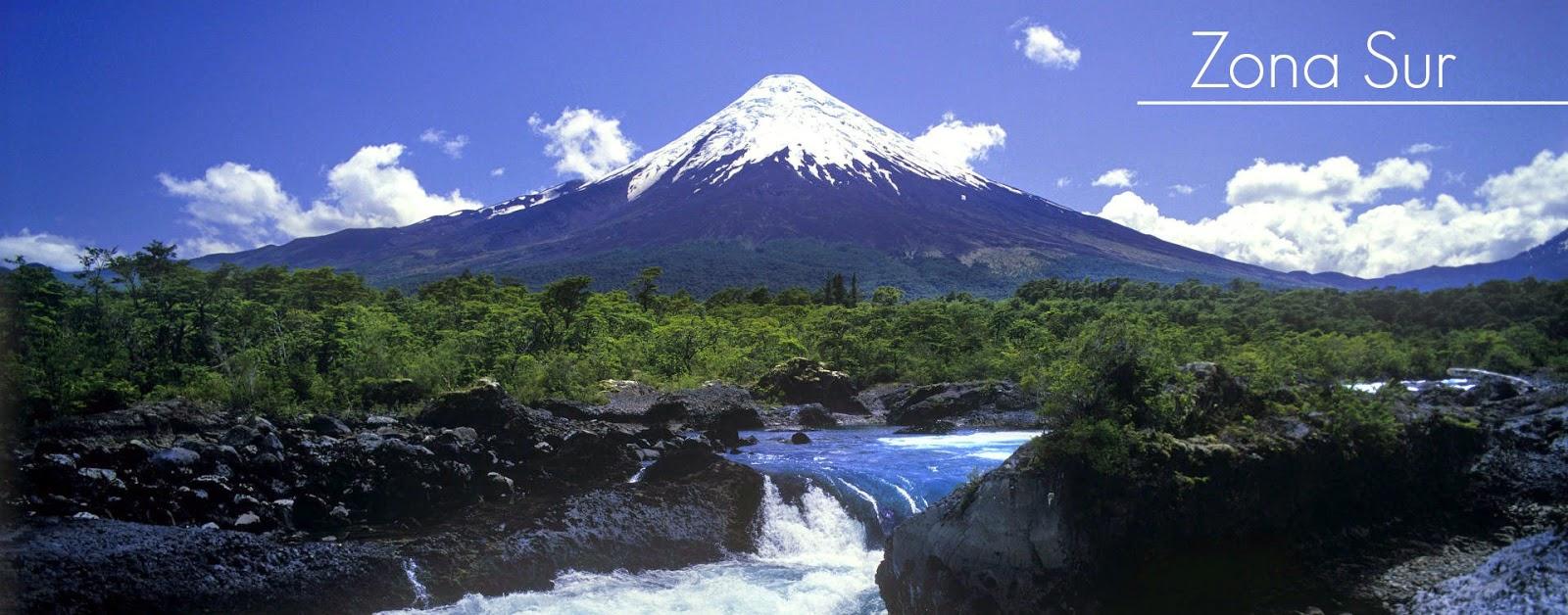 Geografia Turistica Chile Zona Sur
