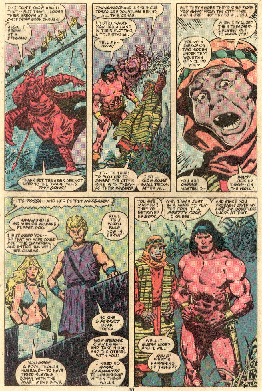 Conan the Barbarian (1970) Issue #112 #124 - English 17