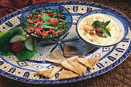 Piece of paradise food for Arabic cuisine history