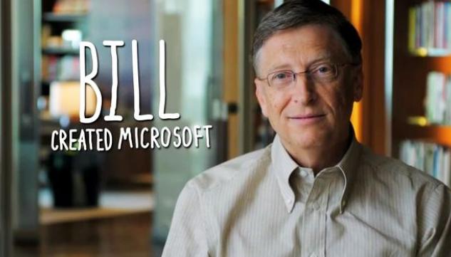 Contoh Descriptive Text about Famous Person (Bill Gates) Terbaru 2015 dan Artinya