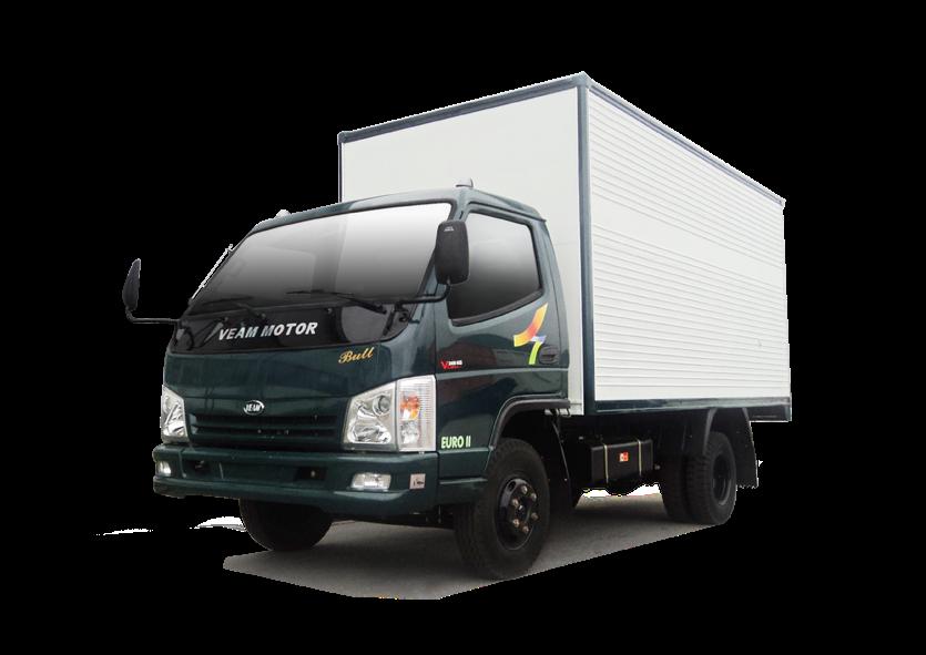 Xe tải Veam thùng kín - Bull 2.5 TK