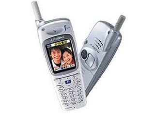 J-Phone first camera phone