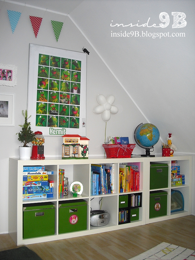 inside 9 B: Daughter\'s play room reveal/Kinderzimmer
