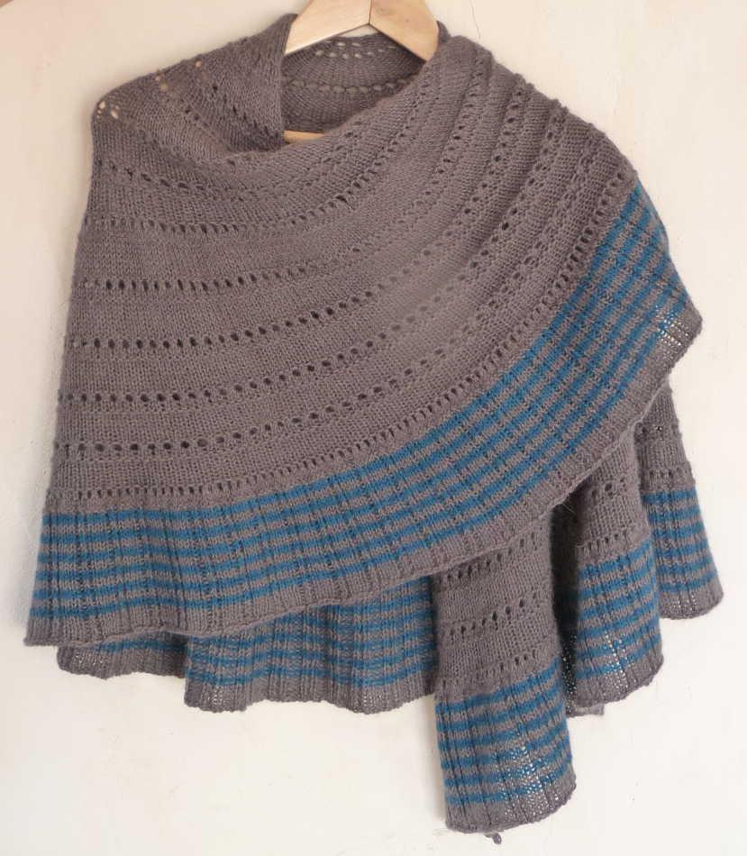 chale tricot modele gratuit