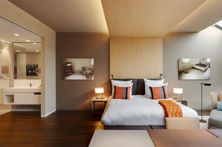Stue hotel in Berlin, Germany has recently had a contemporary interior ...