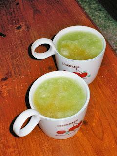 Suc de cogombre i taronja