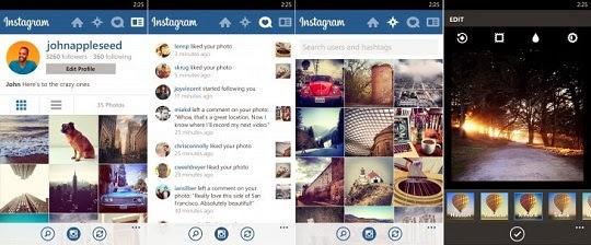 برنامج Instagram متاح للتحميل لهواتف ويندوز فون 8