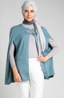 Desain Busana Muslim Kemeja Wanita