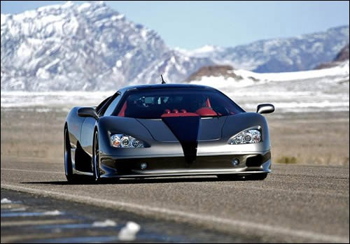3. SSC Ultimate Aero:  257 Mph (413 Km/h), 0 To 60 In Just 2.7 Secs.  Twin Turbo V8 Engine With 1183 (horse Power), Base Price Is $654,400.
