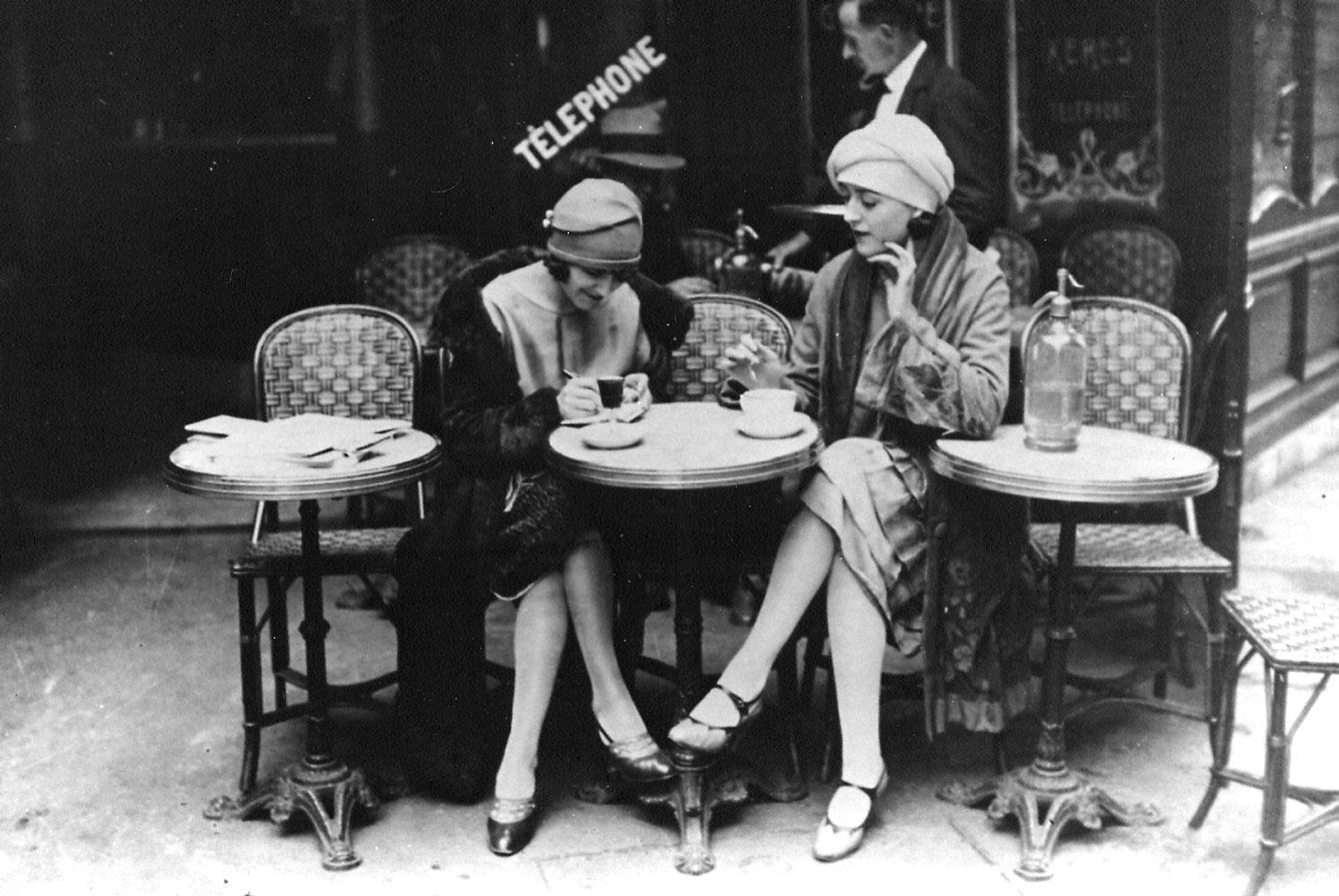 Cafe American Paris Hemingway