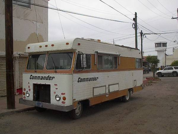 Used Rvs 1977 Commander Motorhome For Sale By Owner