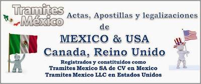 Tramites, Gestorias, Gestiones para Apostillas en Mexico, Apostillados