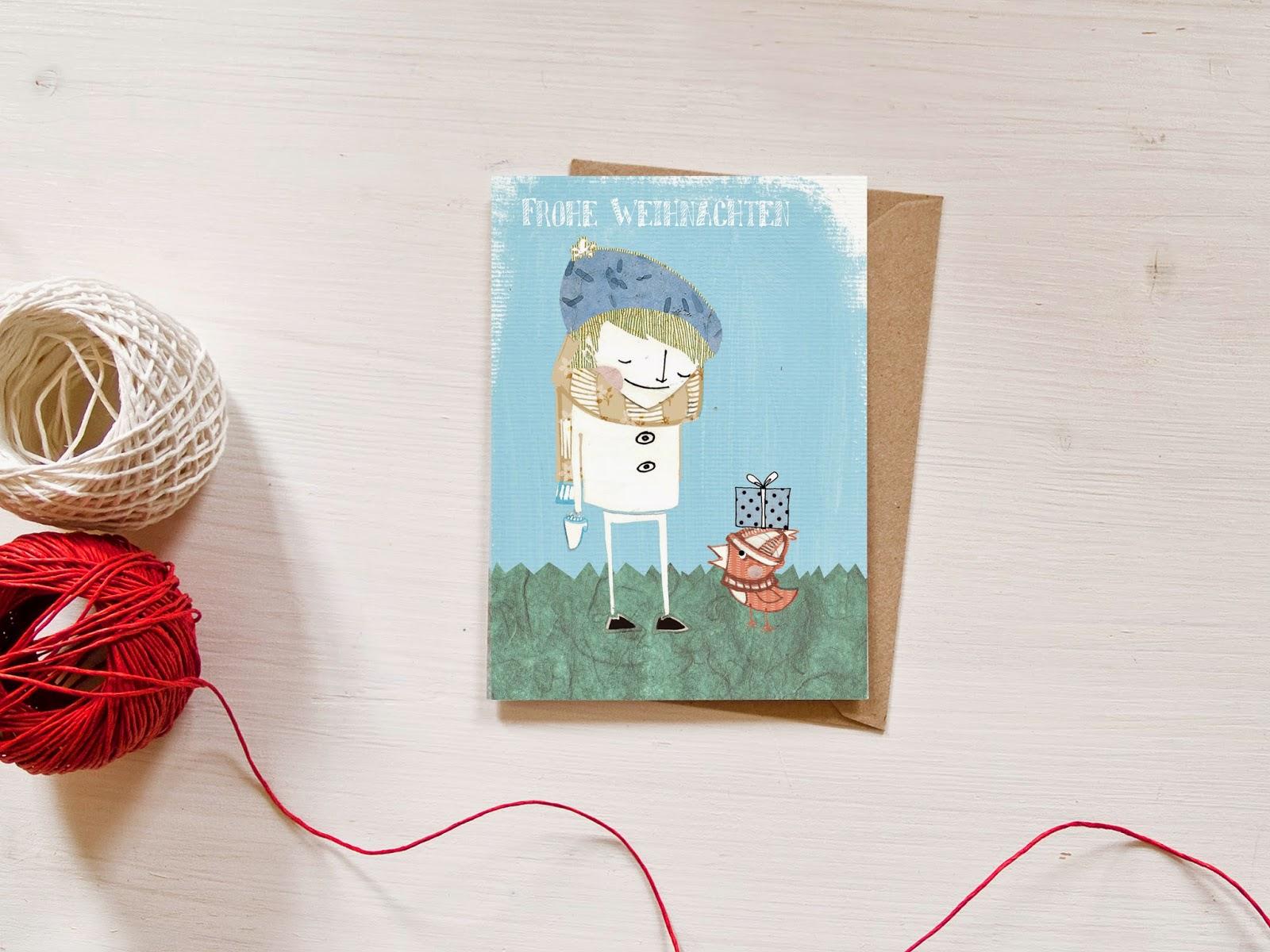 littlePrintStore: Schnell noch ein paar Weihnachtskarten