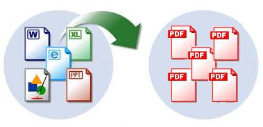 Documentos diferente tipo a PDF
