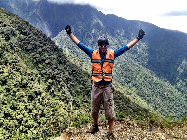 Cycling the worlds most dangerous road in Bolivia