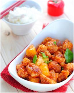 Nấu ăn ngon với món Thịt thăn sốt chua ngọt